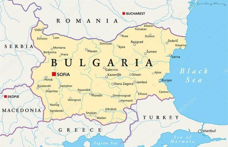 Grčki parlament potvrdio sporazum s Francuskom u slučaju rata s Turskom Bugarska-karta-742x478