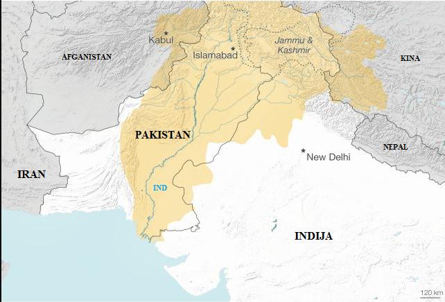 Posjećamo, po dolasku u Pakistan Kate je odmah oduševila.